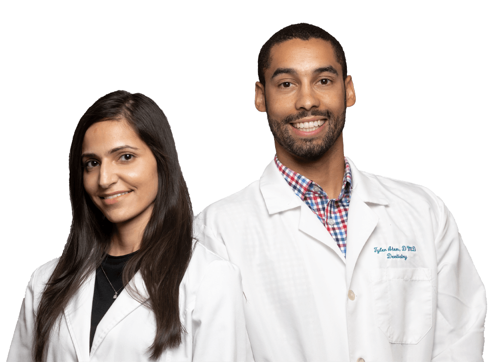 St. Albans dentists Dr. Saini and Dr. Aten