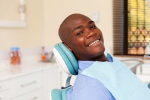 Smiling man with dental implants in St. Albans